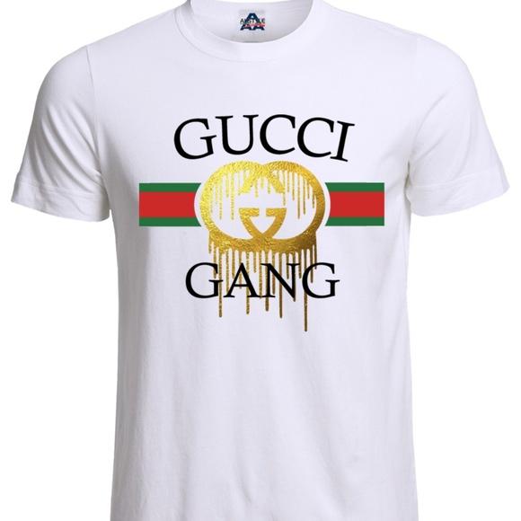 3732481e5 Next Level Apparel Shirts | Lil Pump Gucci Gang Esketit Mensunisex ...